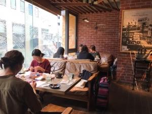 201803 Thecafe ニットカフェ2