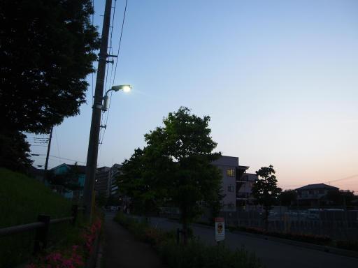 20180515・夕焼けと飛行機雲19