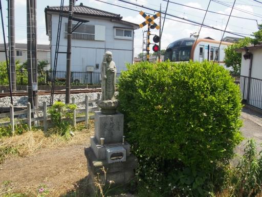 20180603・上北台に行くつもりが鉄04・地蔵様と西武線