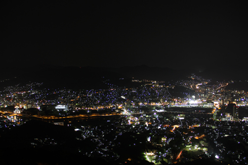 稲佐山夜景2017-4