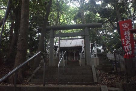 松戸浅間神社拝殿