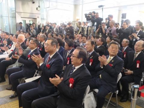 「りんりんスクエア土浦開業式典」 (2)
