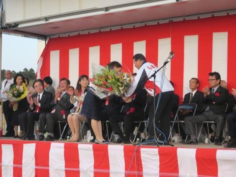 「小美玉市長選挙 島田譲一」出陣式当選祝賀会④