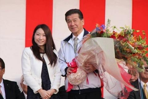 「小美玉市長選挙 島田譲一」出陣式当選祝賀会⑤