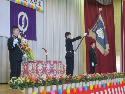 「石岡中学校入学式」②