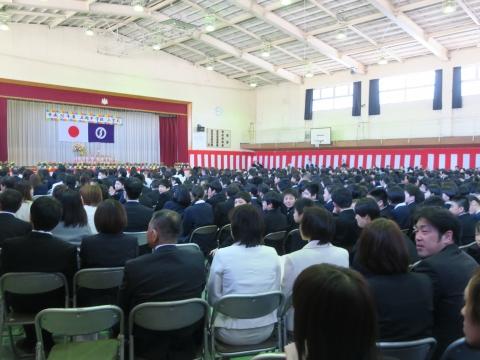 「石岡中学校入学式」⑤