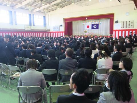 「石岡中学校入学式」⑬