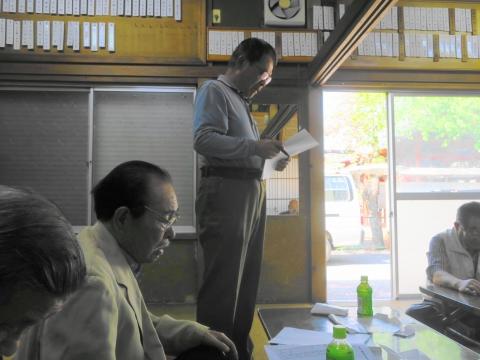 「総代会・歓送迎会・総会が続きます!」④