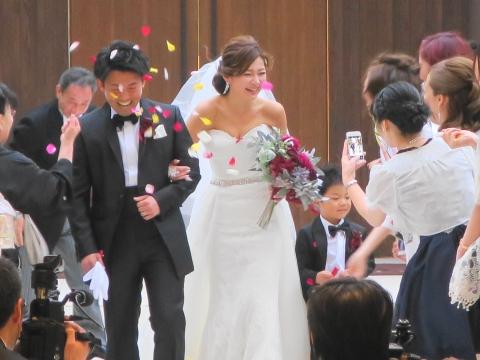 「額賀家米山家結婚式」④