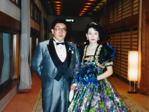 平成4年4月26日「和之容子結婚式」東雲② (1)