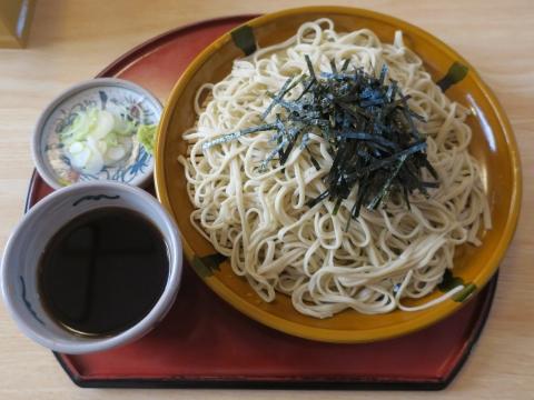 「そば処たむら」ざる蕎麦①