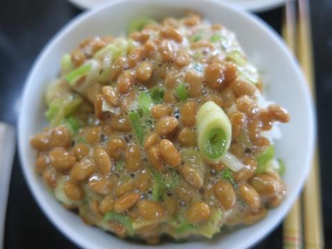 「納豆ごはんは美味しいな!」③