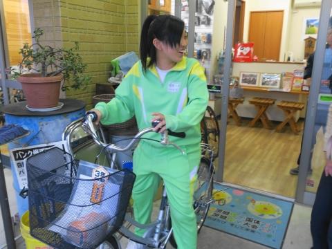 「娘が自転車を買いました!」①