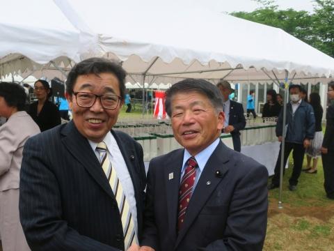「山岡恒夫茨城県議会議長」就任祝賀会 (5)