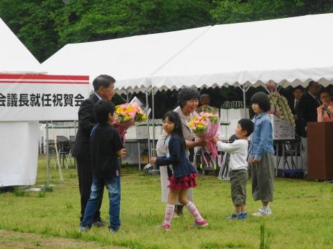 「山岡恒夫茨城県議会議長」就任祝賀会 (4)
