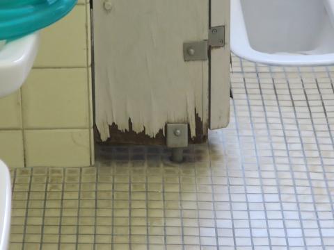 「府中小放課後じどうクラブの教室・トイレ問題」⑭