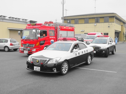 「石岡市消防本部救助訓練査閲」⑱