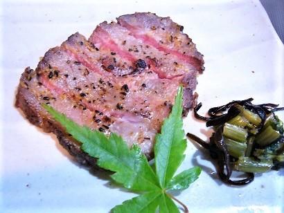 和牛の味噌付焼き (2)