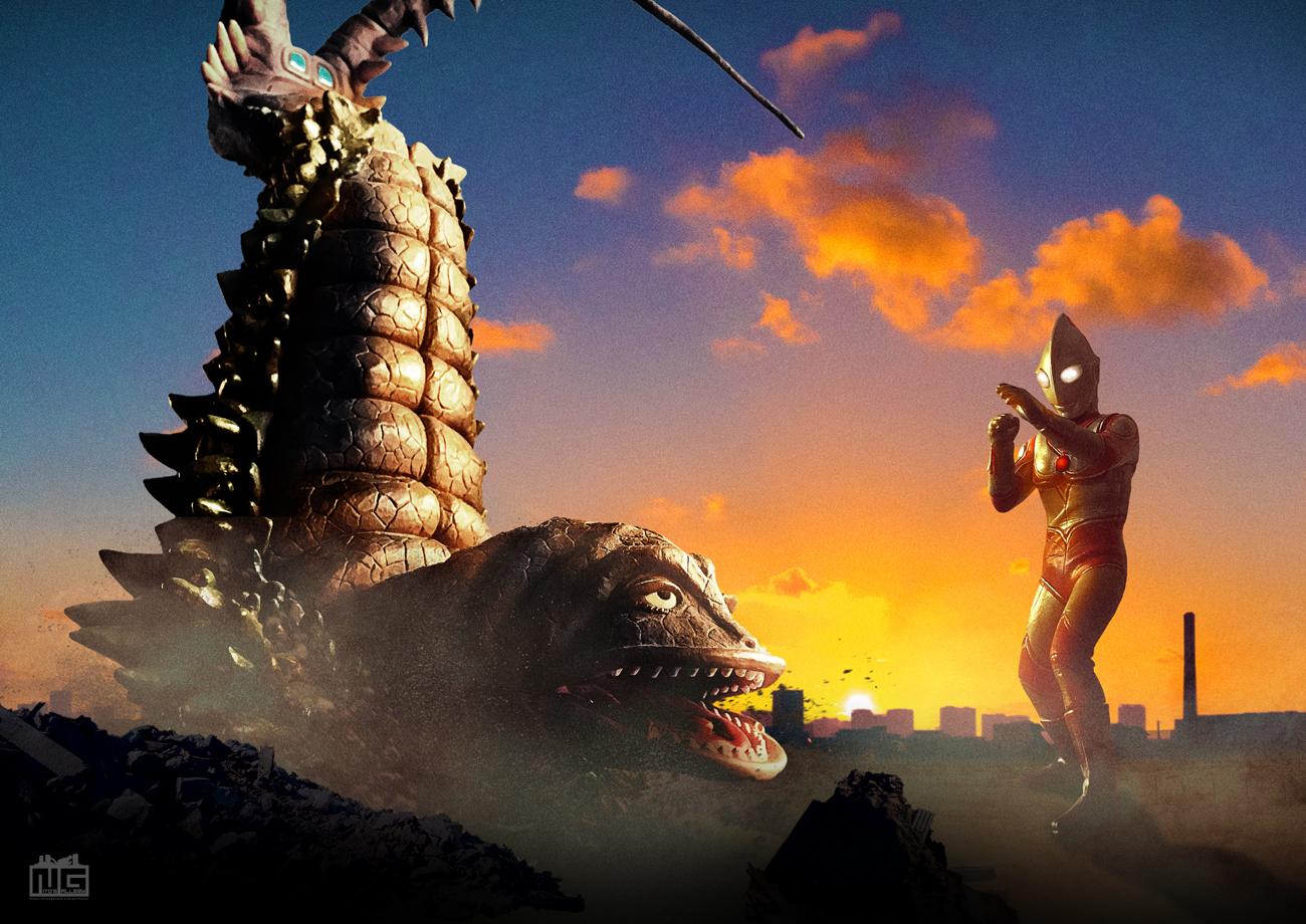 【デジラマ】帰ってきたウルトラマン対ツインテール