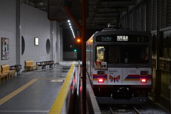2018年1月3日 上田電鉄別所線 上田 1000系1002編成