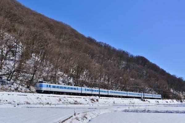 2018年1月25日 JR東日本中央本線 平瀬(信) 189系M50編成