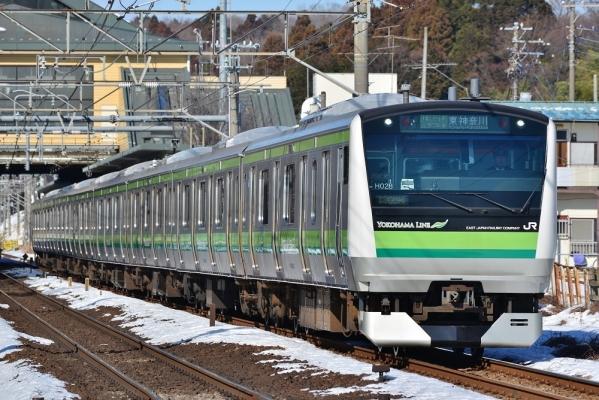 2018年1月27日 JR東日本横浜 相原~橋本 E233系H028編成