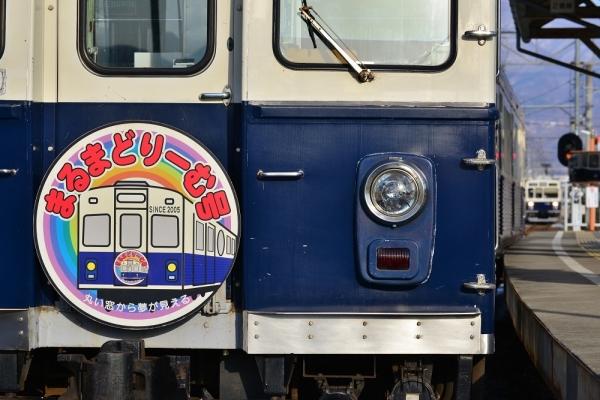 2018年2月9日 上田電鉄別所線 上田原 7200系7255編成/1000系1004編成