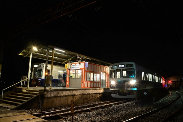 2018年2月16日 上田電鉄別所線 下之郷 7200系7255編成/1000系1004編成