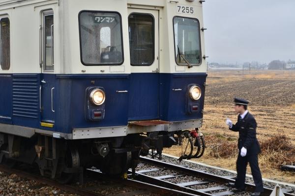 2018年3月5日 上田電鉄別所線 下之郷 7200系7255編成