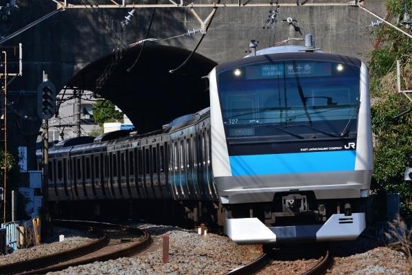 2018年3月12日 JR東日本根岸線 港南台~洋光台 E233系サイ127編成