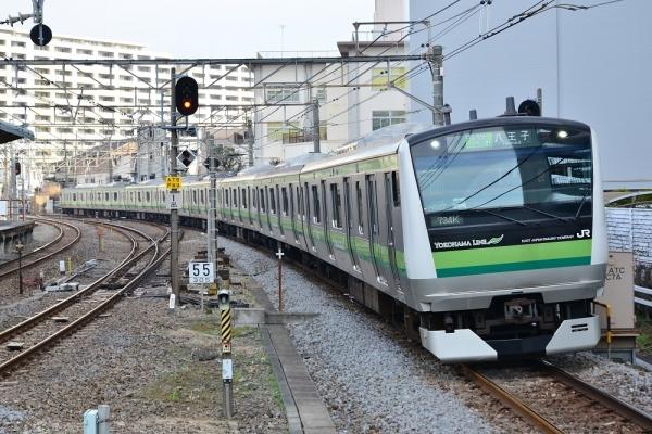 2018年3月15日 JR東日本根岸線 大船 E233系H027編成