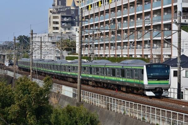 2018年3月15日 JR東日本根岸線 本郷台~港南台 E233系H027編成