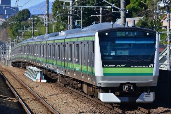 2018年3月17日 JR東日本横浜線 片倉 E233系H028編成