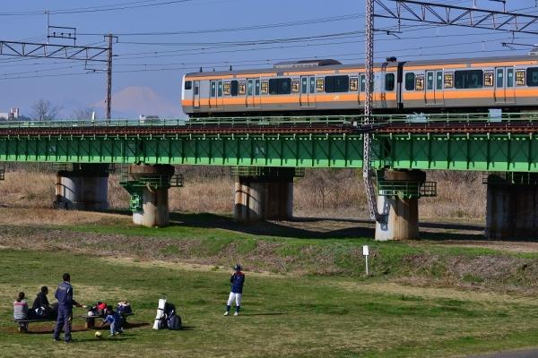 2018年3月25日 JR東日本中央本線 立川~日野 E233系トタT1編成