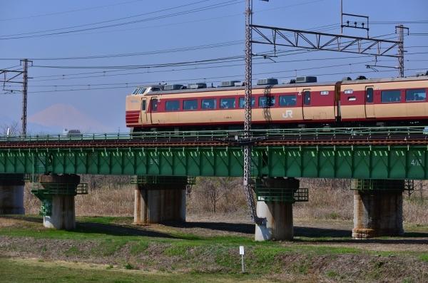 2018年3月25日 JR東日本中央本線 立川~日野 189系トタM51編成