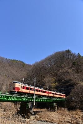 2018年3月25日 JR東日本中央本線 笹子~甲斐大和 189系トタM51編成