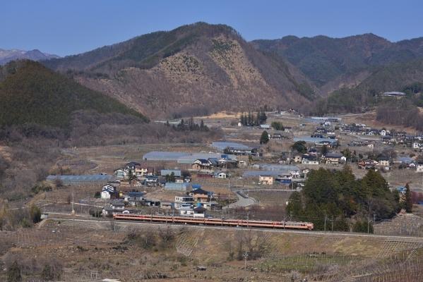 2018年3月25日 JR東日本中央本線 塩山~勝沼ぶどう郷 189系トタM51編成