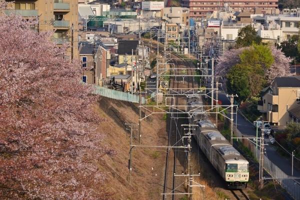 2018年4月1日 JR東日本横浜線 菊名~大口 185系オオB3編成