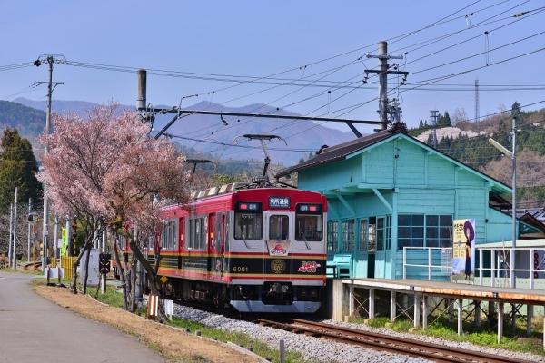 2018年4月10日 上田電鉄別所線 八木沢 6000系6001編成