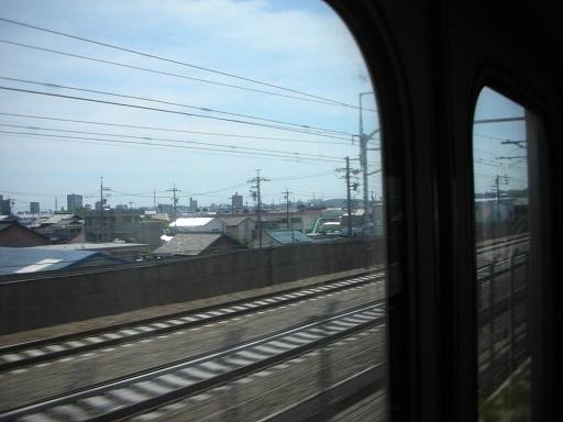 東海道線車窓