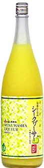 久米島の久米仙泡盛仕込シークワーサー酒