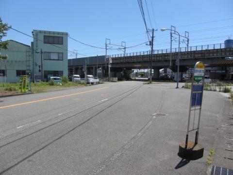 依田橋町バス停