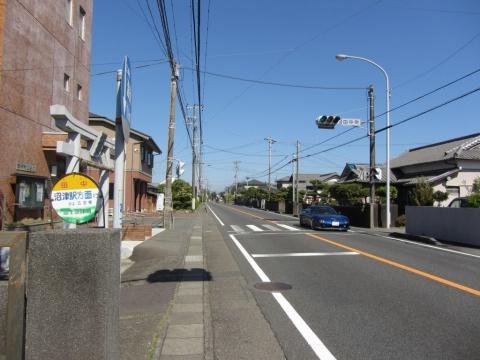 田中バス停