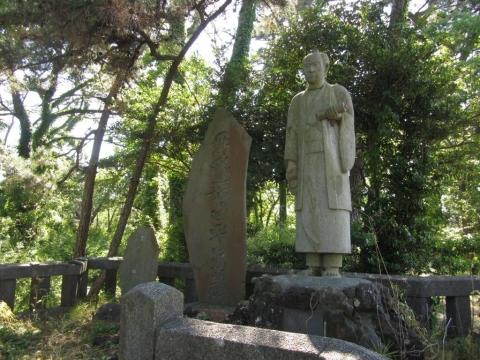 増田平四郎像
