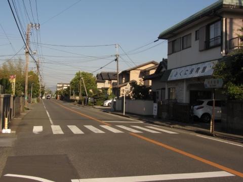 静岡県道163号 桃里