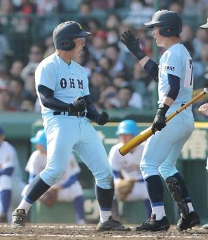 絵日記3・28高校野球1