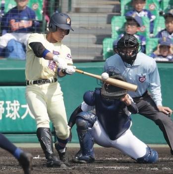 絵日記3・29高校野球1
