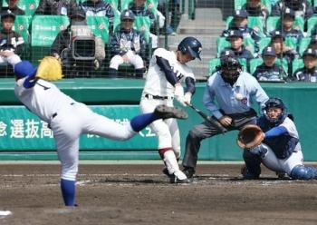 絵日記3・31高校野球1
