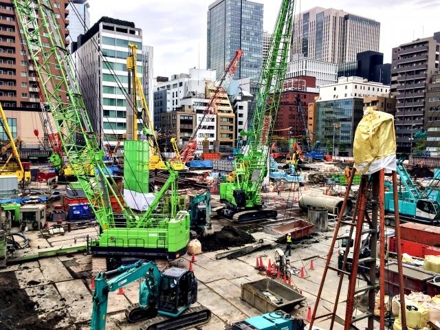 工事現場 都市開発 リニューアル