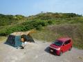 大浜海水浴キャンプ1